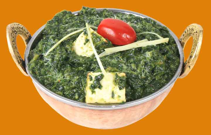Saag Paneer of The Copper Chimney